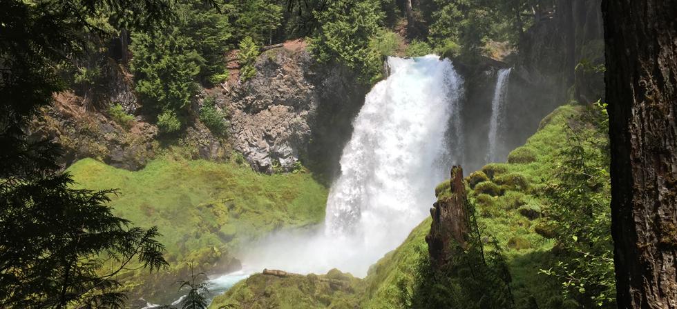 Sahalie Falls Amp Koosah Falls Eugene Cascades Amp Oregon Coast