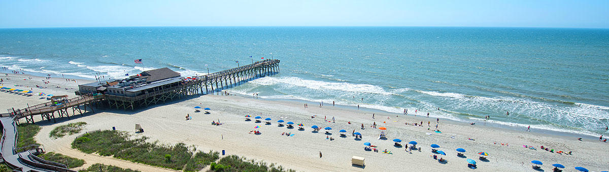 Myrtle Beach Sc Things To Do 14th Avenue Pier