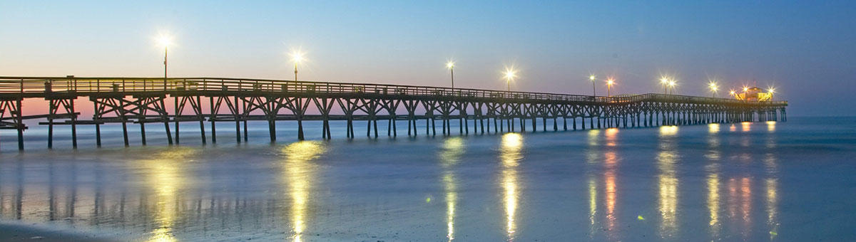 Myrtle beach sc things to do cherry grove pier for North myrtle beach fishing pier