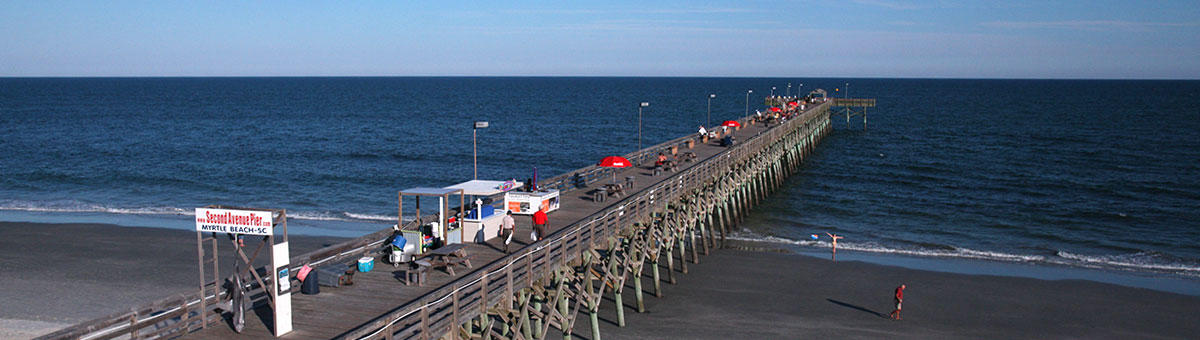 Myrtle Beach Sc Things To Do 2nd Avenue Pier