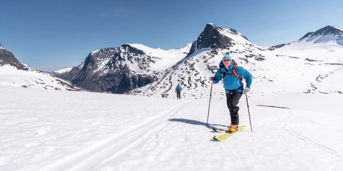 Image result for Enjoy Magical Descents While Skiing Under the Midnight Sun