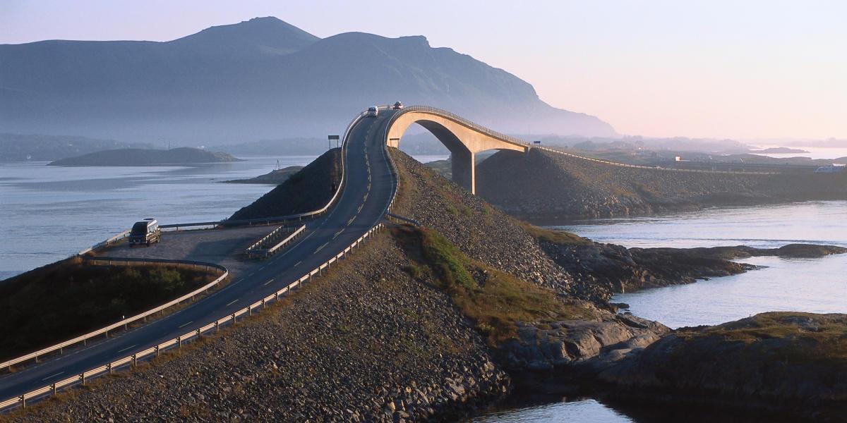 The Atlantic Ocean Road Named Best Summer Drive In Europe