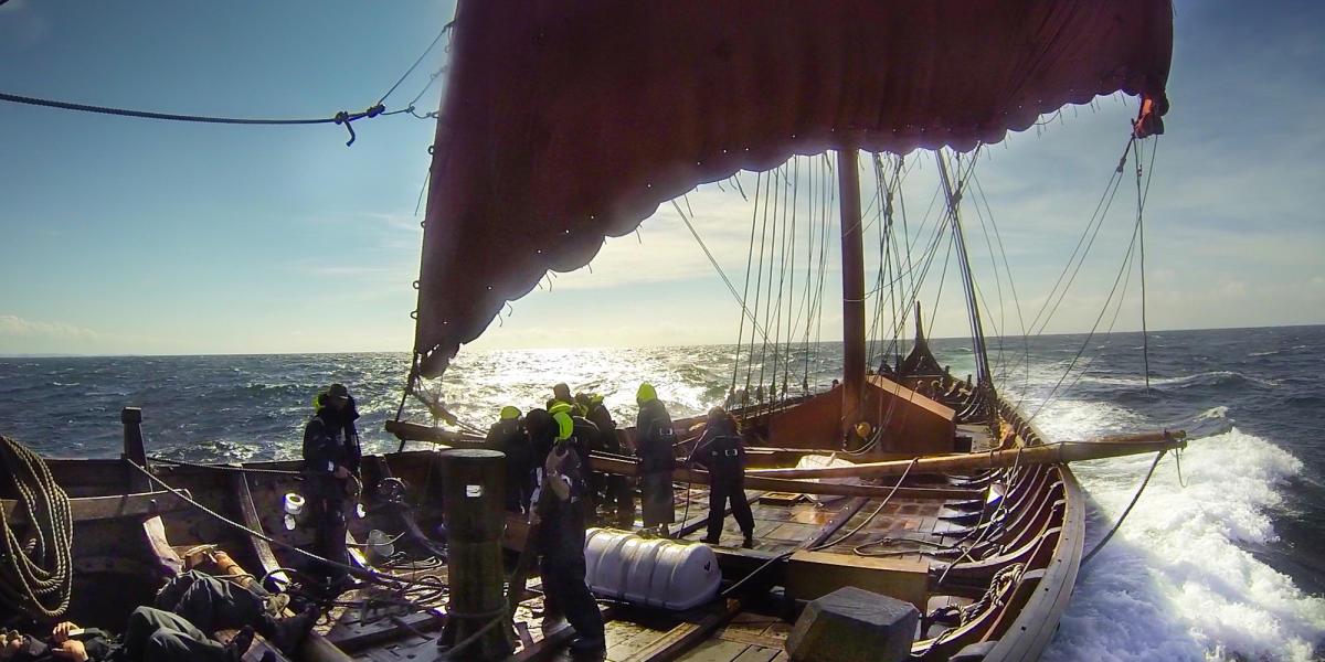 A Daring Crew Prepares To Cross The Atlantic In A Viking