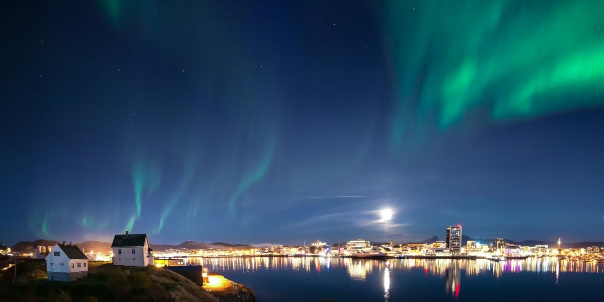 Northern lights in Bodø and Salten
