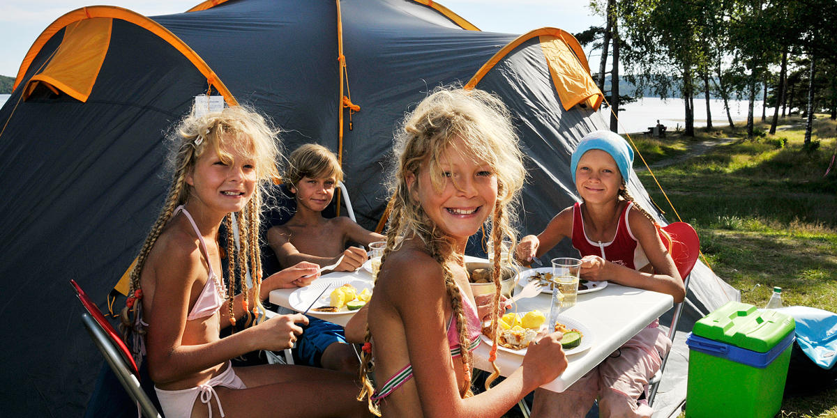 Camping And Caravanning In Norway Sleep In A Tent Or