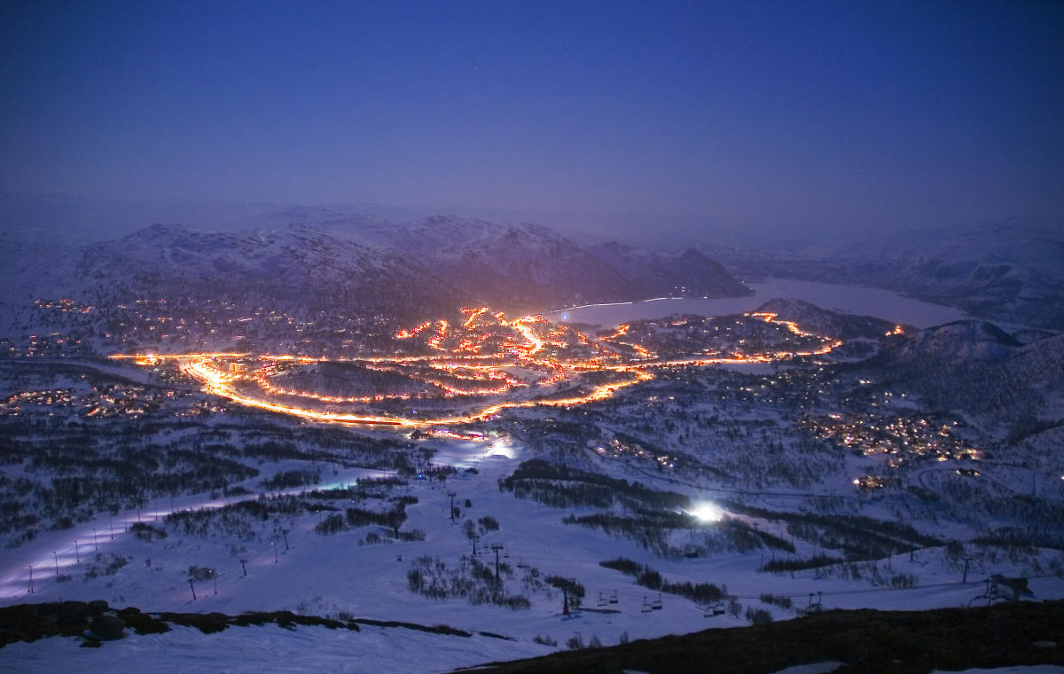 Winter In Hovden Norway Family Friendly Mountain Village