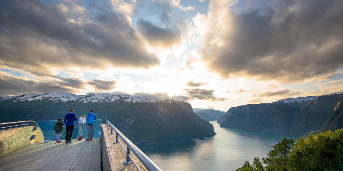 Fjord Norway – UNESCO fjords, flowing waterfalls, and snow-capped mountains