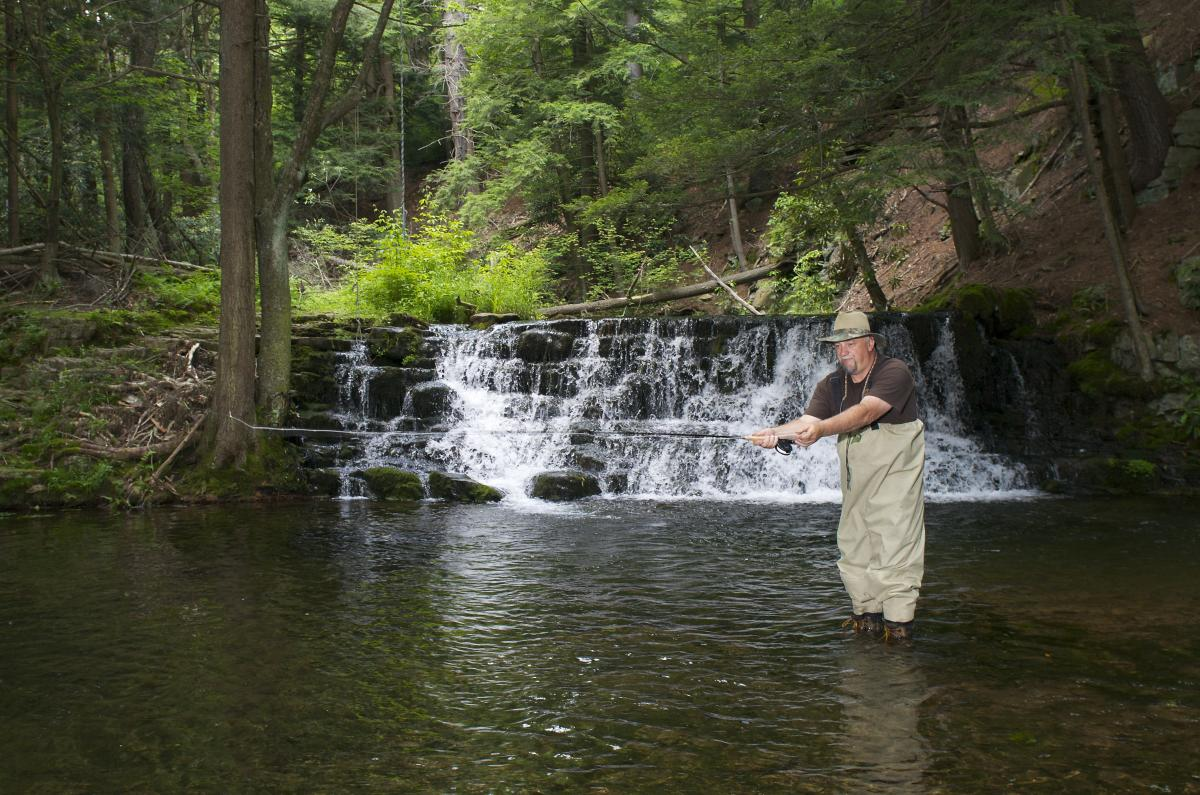 Pocono Mountains Trout Fishing Information