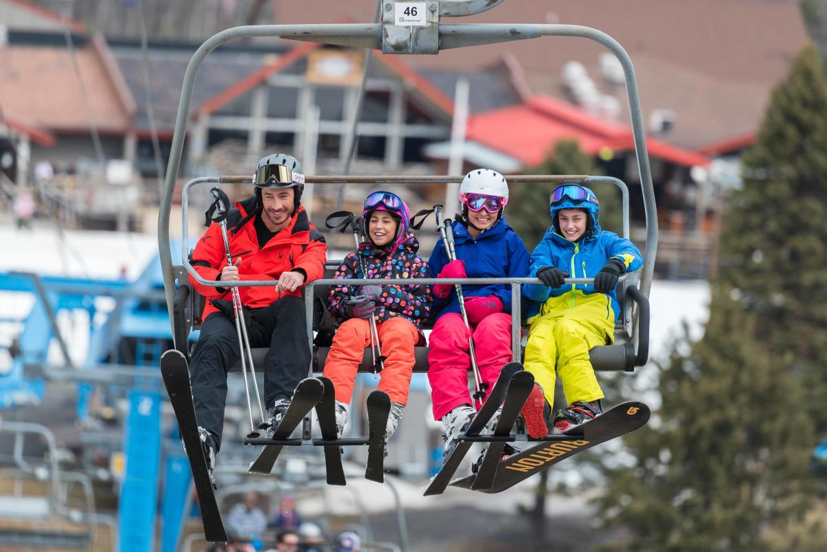 Poconos Skiing  Learn More About Trails Resorts  Conditions