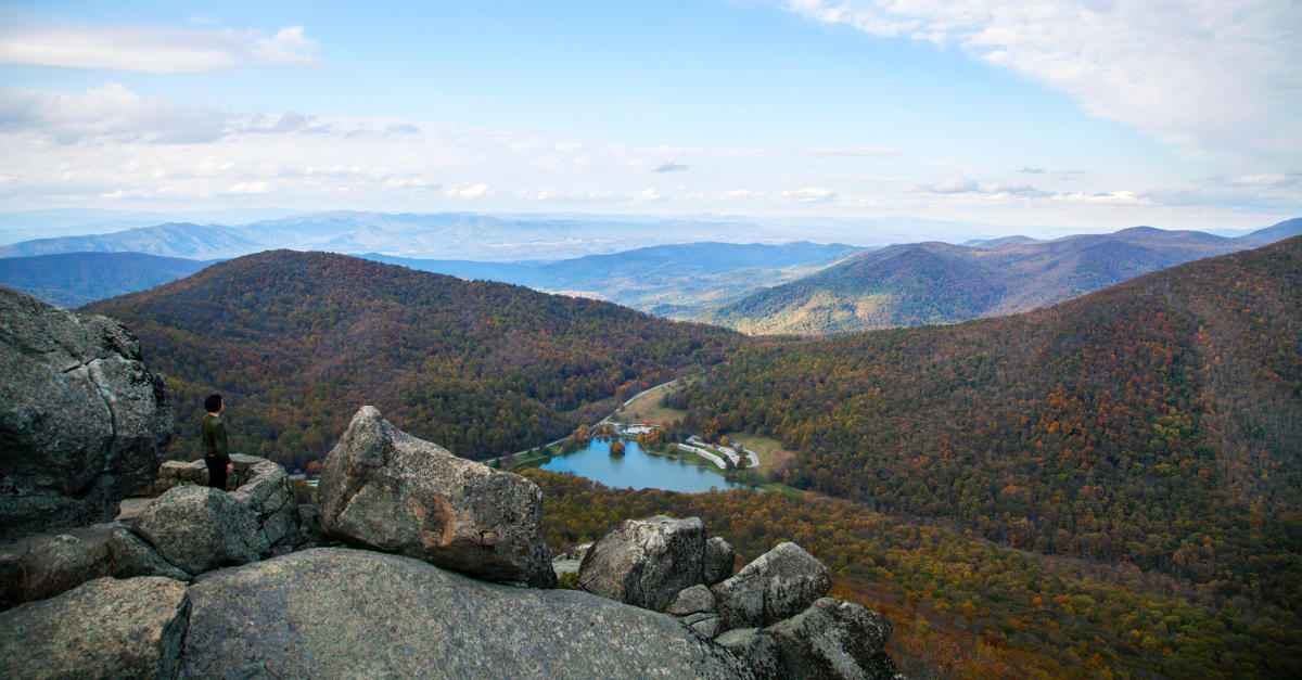 Hiking Trails Located On The Blue Ridge Parkway In Virginia