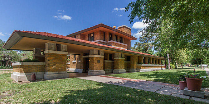 Where To See Frank Lloyd Wright Innovation In Wichita