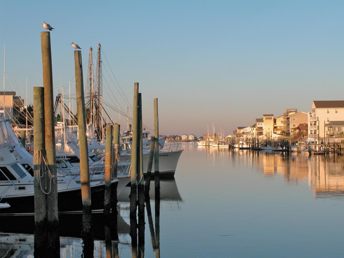 Fishing center marina carolina beach nc official - Exterior water service line coverage ...