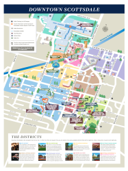 Downtown Scottsdale Map