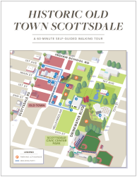 Historic Scottsdale Walking Tour Map