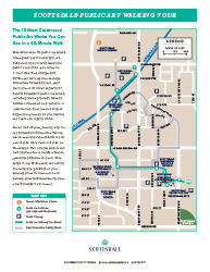Public Art Walking Tour Map
