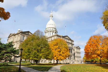 State Capitol Building Fall