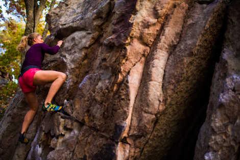 Stone Fort Rock Climbing