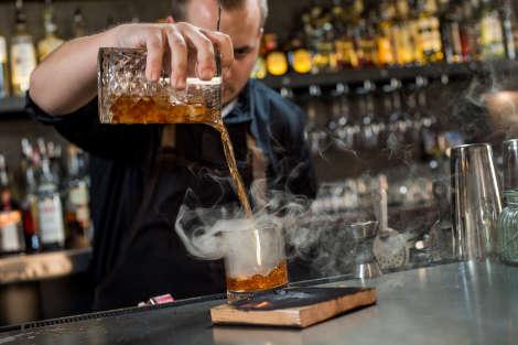 1909 Smoked Cedar Cocktail