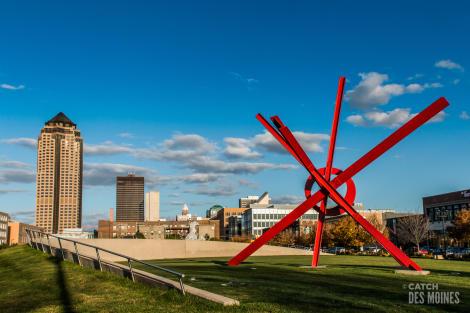 Sculpture Park Downtown Des Moines