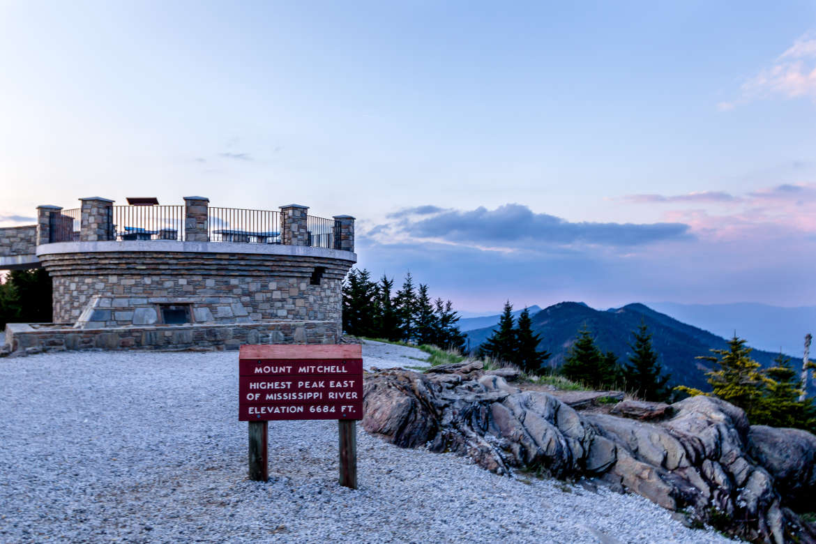 Mount Mitchell Observation Deck