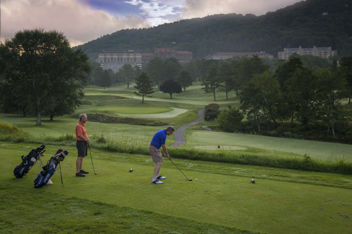Golf at the Omni Grove Park Inn