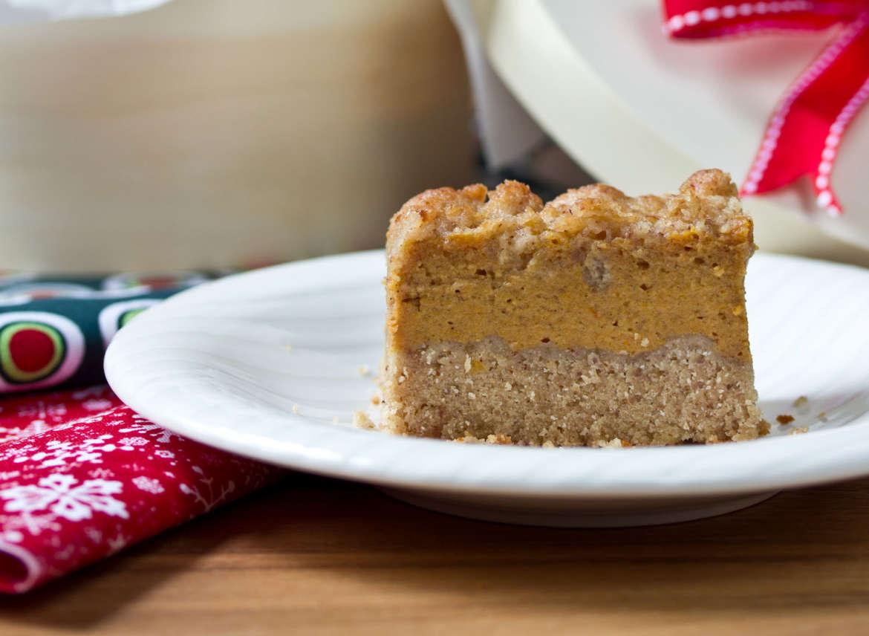 Creamy Pumpkin Pie Bars #Recipe   ExploreAsheville.com