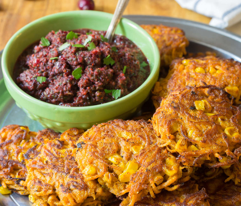 Sweet Potato Fritters #Recipe | ExploreAsheville.com