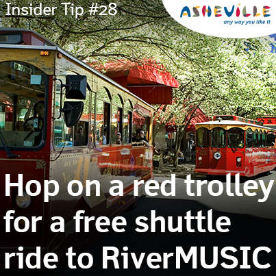 Catch a Ride to RiverMUSIC