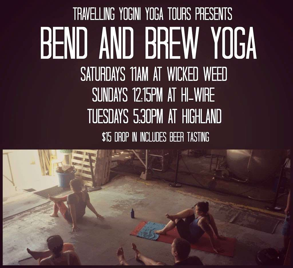 Bend & Brew: From Stretching to Sipping