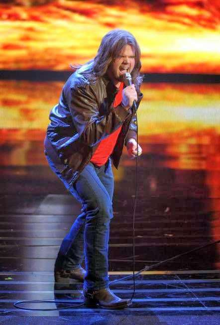 Caleb Takes it Slow for Top 10 Performance
