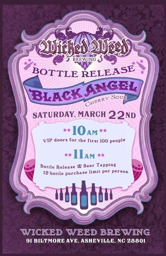 Wicked Weed Releases Second Bottled Beer