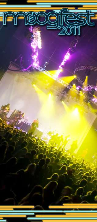 Backstage At Moogfest - Plus Listen Online