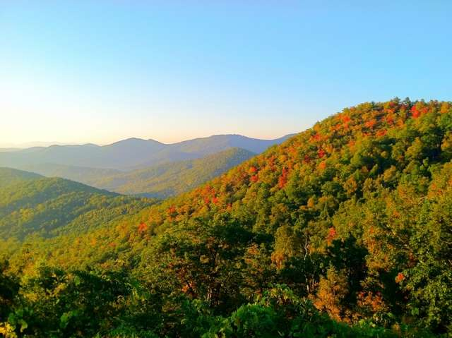 Photo of the Day: Magic on the Blue Ridge Parkway