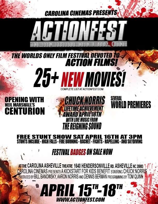 ActionFest & Chuck Norris Take Over Asheville