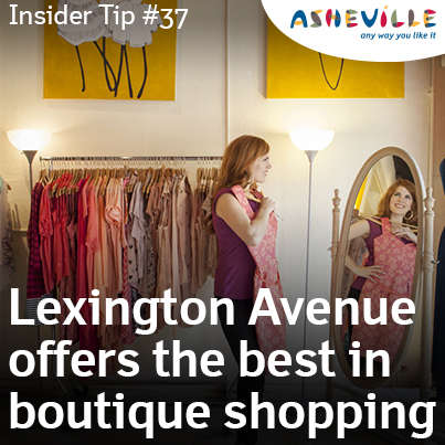 Lexington Avenue Shopping