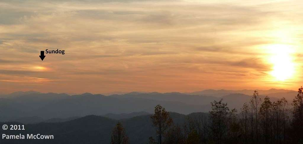 An Optical Phenomenon Appears Over Asheville Sky