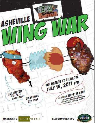 Who Has the Best Wings in Asheville?