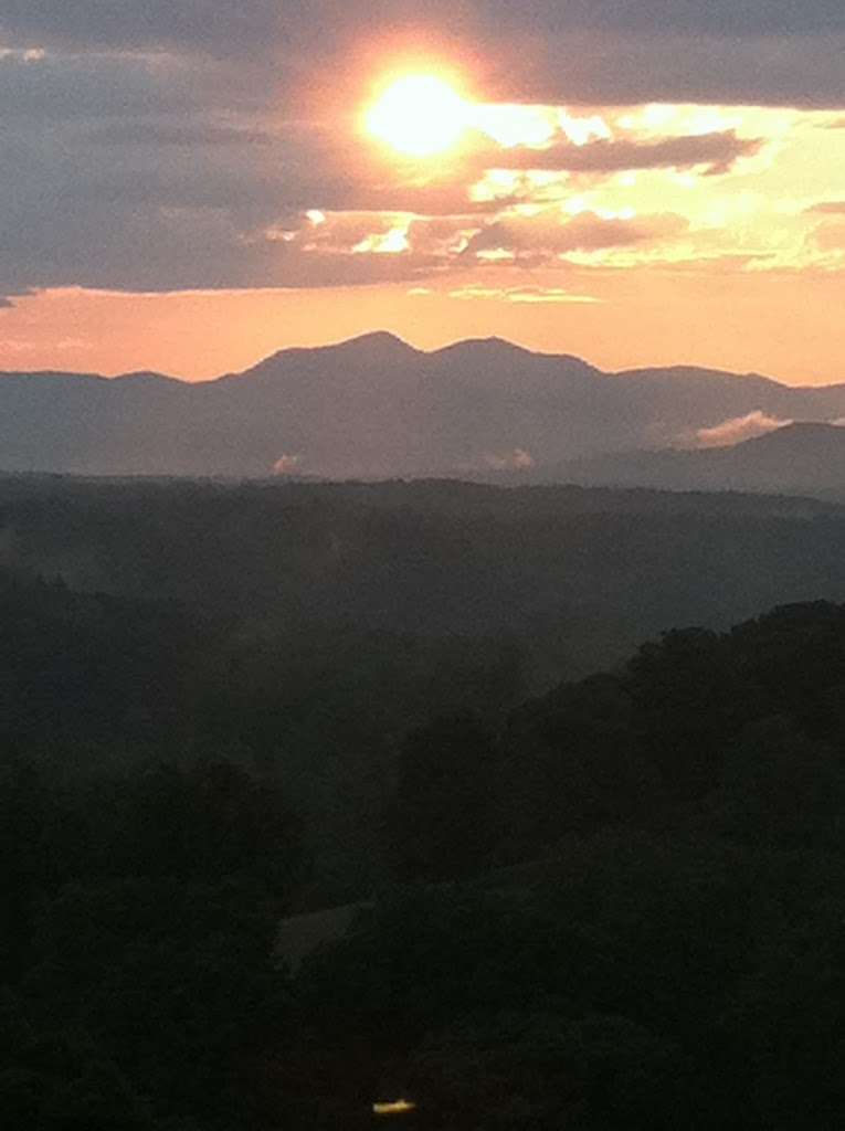 Picture of the Day: Biltmore Sunset