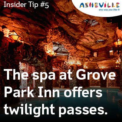 Spa Savings at Grove Park Inn