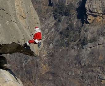 Extreme Santa Claus