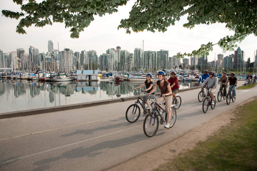 Biking The Vancouver Seawall Activities Attractions In Vancouver