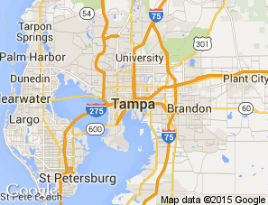 Map Of Tampa Bay Florida.Interactive Map Visit Tampa Bay
