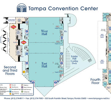 Tampa Convention Center Visit Tampa Bay