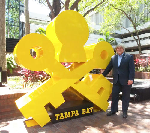 Visit Tampa Bay, Leadership Tampa Bay Make a Monumental Impact on Downtown