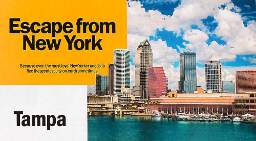 TimeOut NY: Escape to Tampa from New York