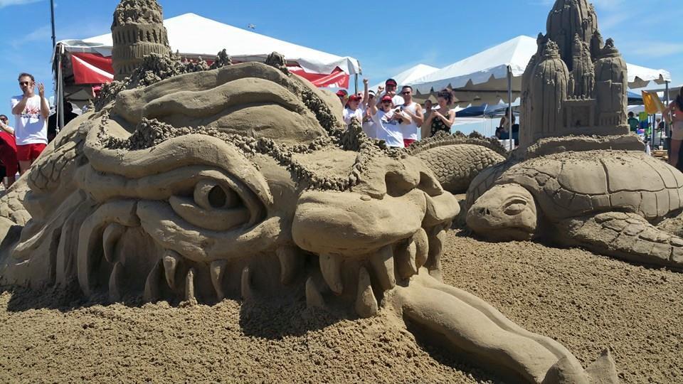 AIA sandcastle galveston