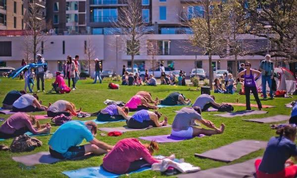 Levy Park Yoga