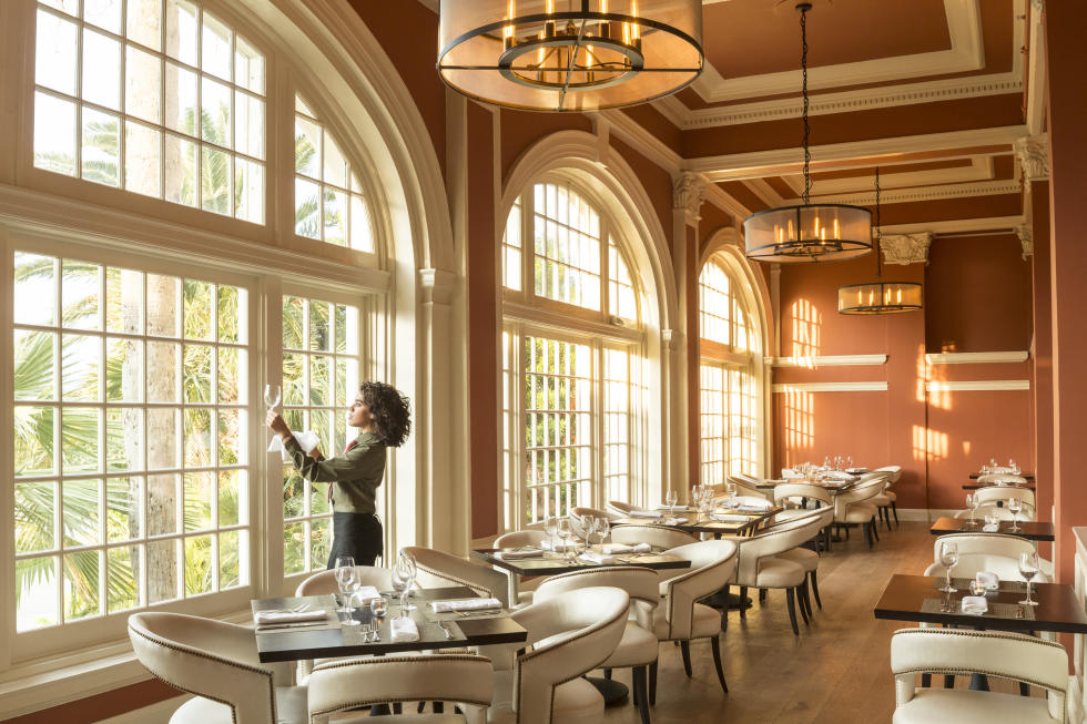 Hotel Galvez restaurant