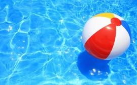 beach ball pool for blog