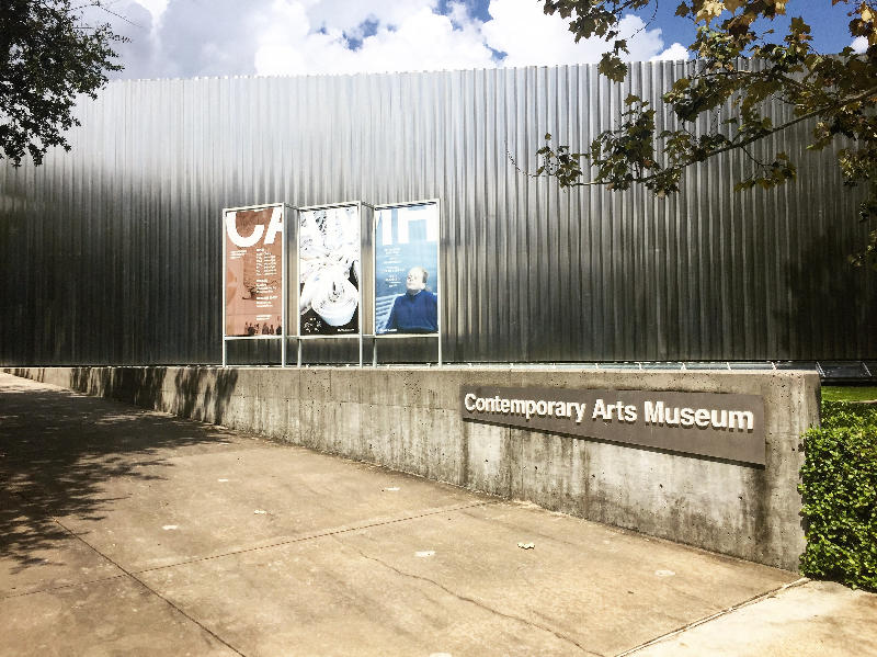 Outside the Contemporary Art Museum